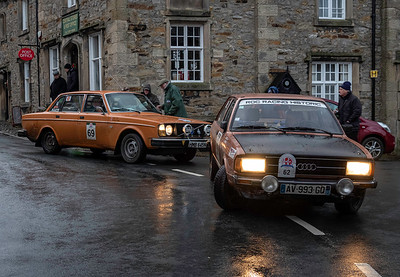 1976 Audi 80 GTE and 1975 Volvo 244 DL