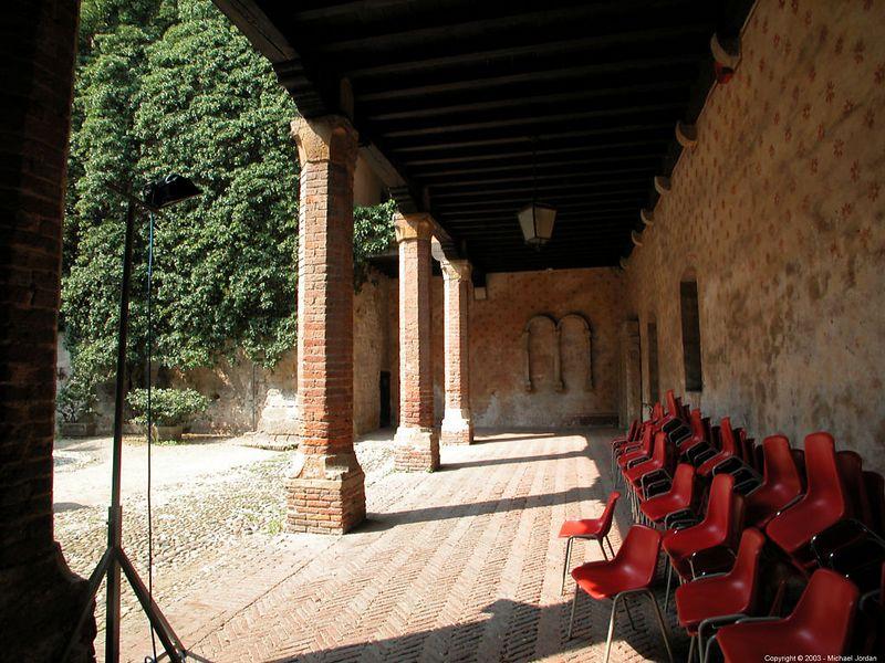 Courtyard of lower castle