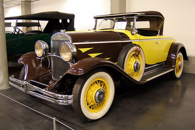 LeMay - America's Car Museum 1930 Chrysler 77 Series Roadster