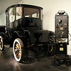 LeMay - America's Car Museum<br /> 1914 Detroit Electric (with charging station)