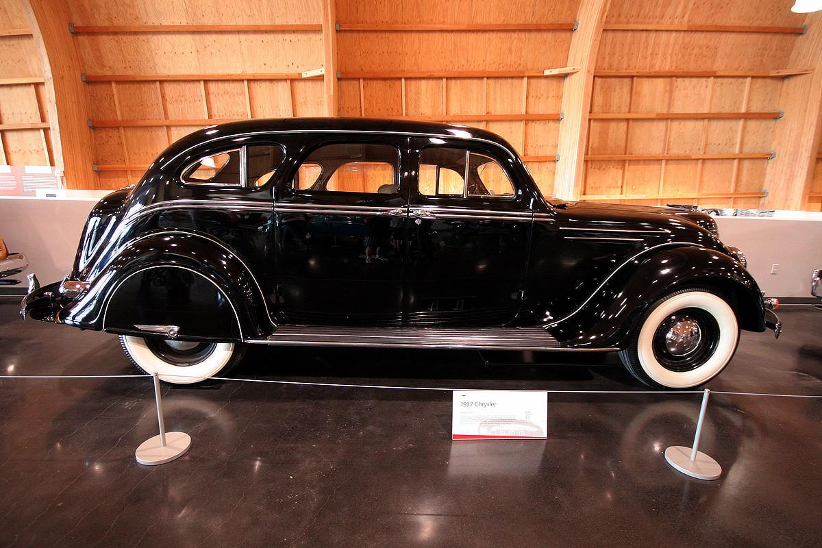 LeMay - America's Car Museum 1937 Chrysler Airflow