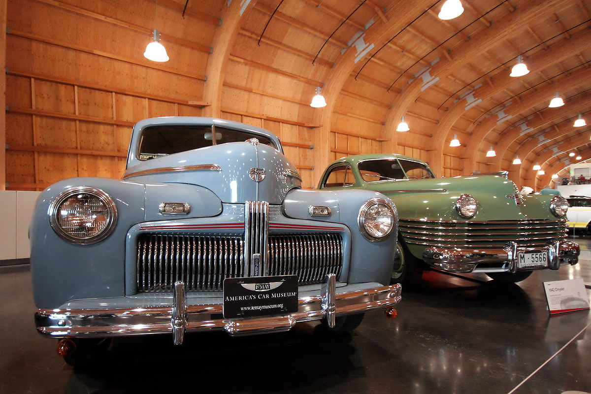 LeMay - America's Car Museum Ford Deluxe