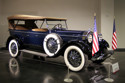LeMay - America's Car Museum 1923 Lincoln Touring Car