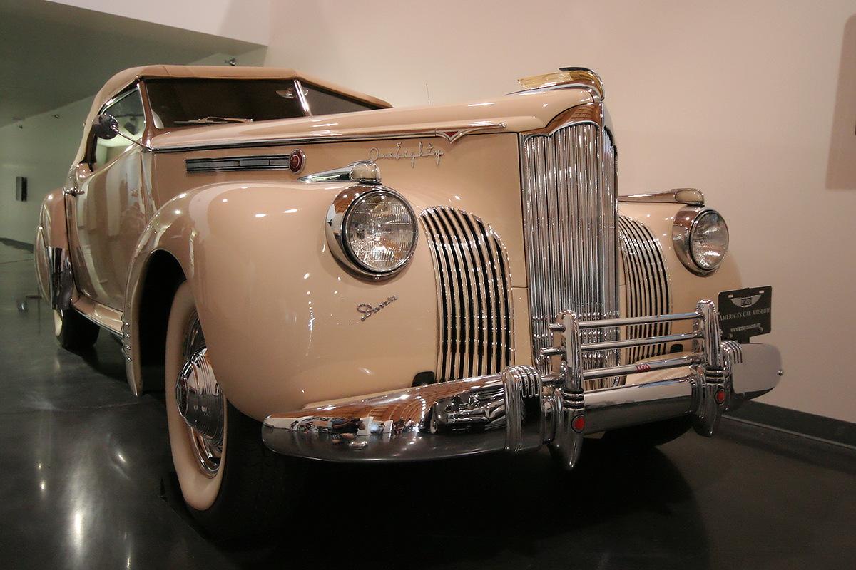 LeMay - America's Car Museum 1941 Packard Darrin Convertible Victoria