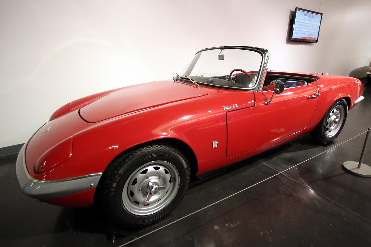 LeMay - America's Car Museum 1964 Lotus Elan S2