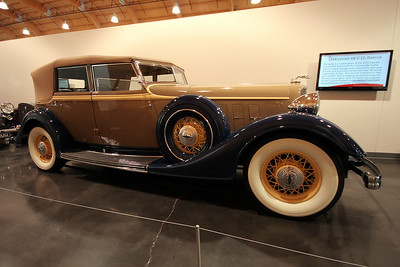 LeMay - America's Car Museum 1934 Lincoln KB V-12, Dietrich