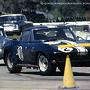 # 2 - 1963 - FIA Don Yenko at Sebring.  Co-drivers were Ed Lowther and Duncan Black. Finhished 4th in GTO class won by Cobra piloted byPhil Hill, Ken Miles and Lew Spencer Note rear fender flares required to cover larger tires on the Grady Davis ZO6 Corvettes.  Ownership of this car was disputed following recovery of original frame and body by two different parties, leading to a settlement.  The late Leon Hurd re-built the car using the original body.  After retiring from vintage racing in 1994, he donated it to the National Corvette Museum.  It is part of the collection today in 2012.
