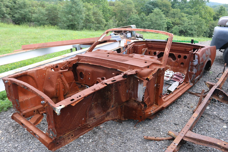 Tony's 1965 Mustang Convertible - Needs TLC