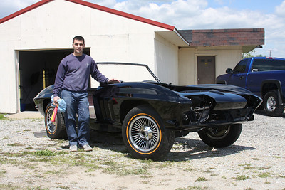 66 Corvette Restoration and Show Pictures