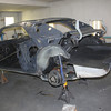Body structure ready for new  sheet metal
