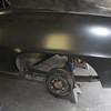 New Goodmark sheetmetal is installed on the Camaro