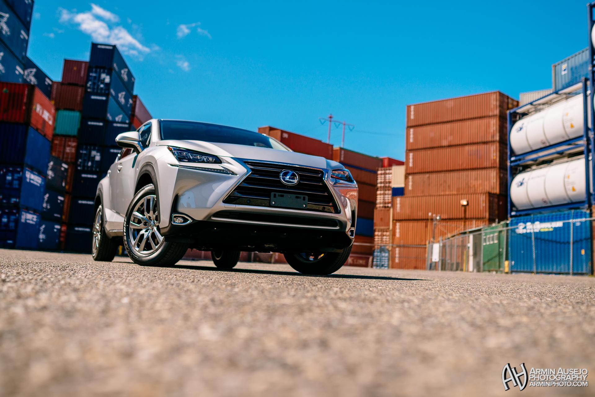 Lexus NX in Silver Lining