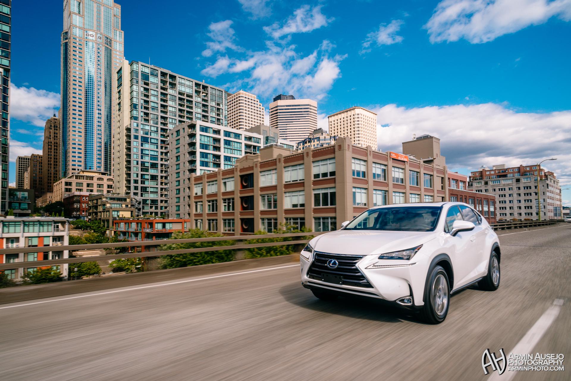 Lexus NX in Eminent White