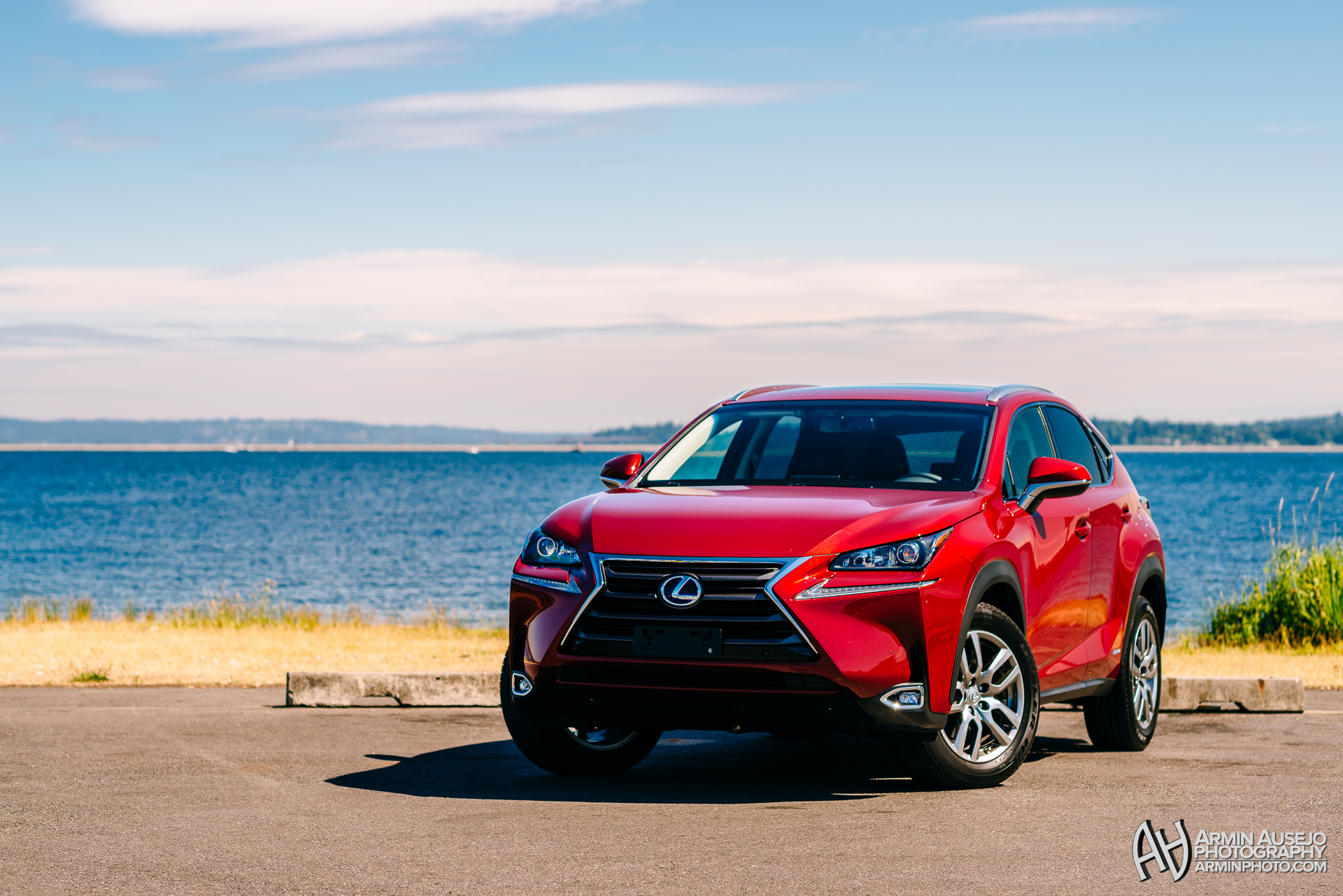 Lexus NX in Matador Red