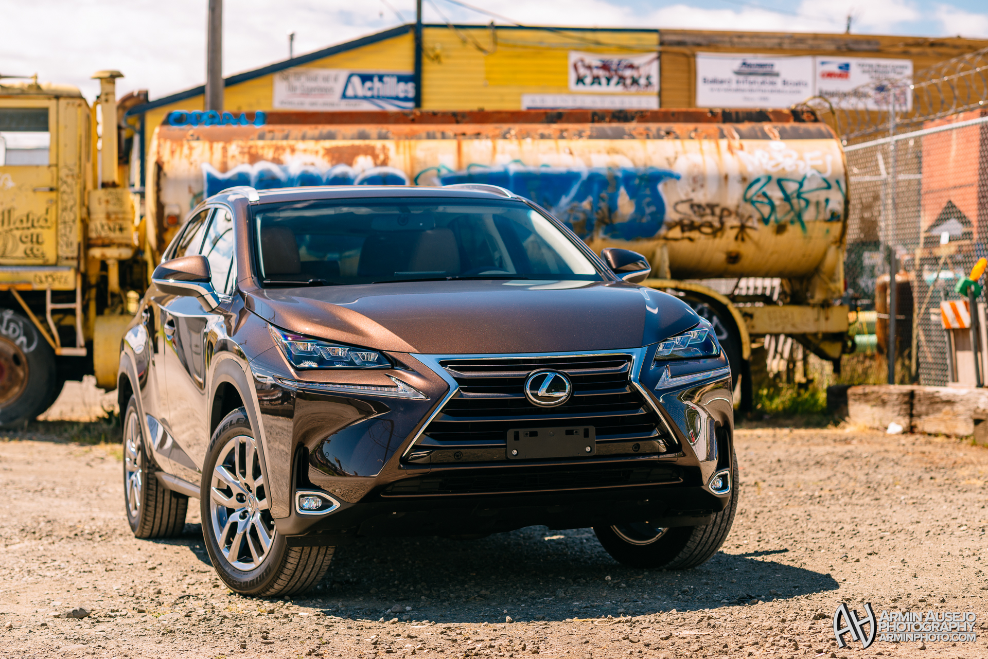 Lexus NX in Fire Agate