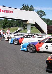 BMW M1 racecars