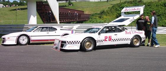 BMW M1 street and IMSA GTO champ