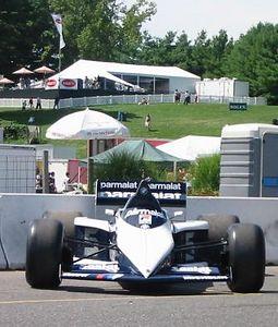 Brabham-BMW BT52 (and a porta-potty)