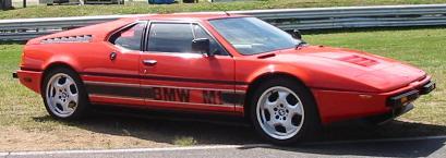 BMW M1 (with M Contour wheels)