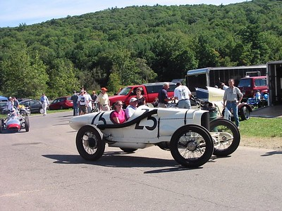 Benedict Special. A 1915 racer built by the Duesenberg brothers for racing on high-banked ovals around the Northeast. This is the second-oldest Duesenberg car in existence.