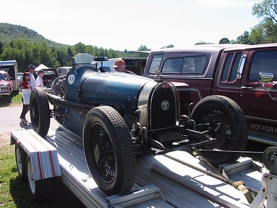 Bugatti Type. Believe it or not this car actually raced today and did quite well.