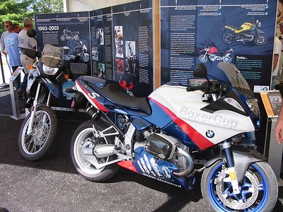 BMW R1100S BoxerCup with a F650 GS Dakar