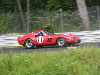 Ferrari 250GTO. An original, un-restored GTO, which has been in the same ownership since 1967. It was originally delivered in 1962 to John Surtees and Maranello Concessionaires in London. It spent all of its early life in Europe, winning the 1965 Italian National Sportscar Championship. Its other race history includes events at Brands Hatch, Goodwood, the Targo Florio, and the Nurburgring.