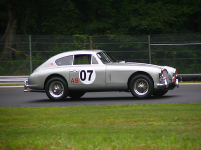 Aston Martin DB2. When this car came off the track it was cleaner than when it went on...