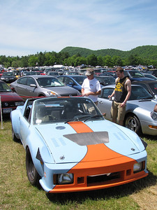 This is, by far, the absolute fastest 914 anywhere in this photo.