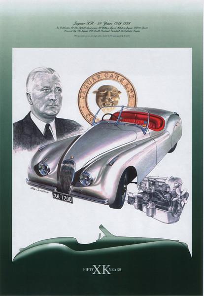 50th anniversary of the Jaguar XK