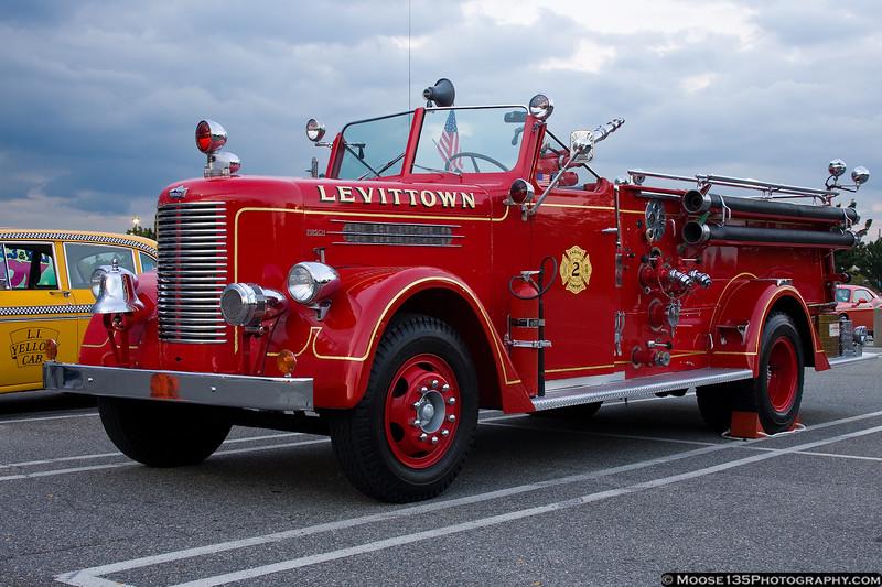 1950 Pirsch Fire Truck - Levittown Fire Department