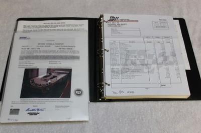 Lola T 294 Chassis HU 65 documentation file