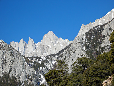 Mt. Whitney outside of Lone Pine, Ca.