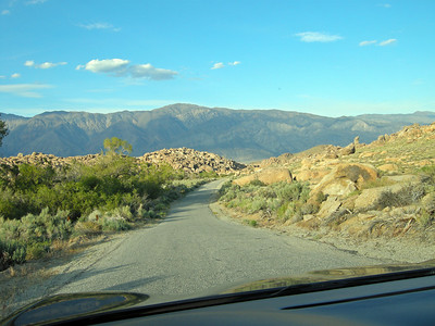 Lubken Canyon Rd. in the Alabama Hills.