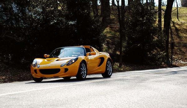 Lotus Elise taken at Cherokee Park