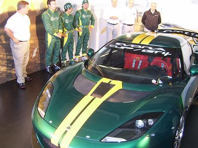 Lotus Evora Rollout August 2010.
