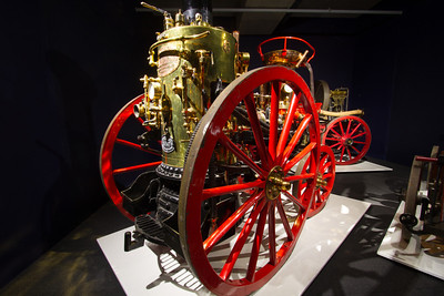 THIRION MODÈLE NO. 2 HORSE-DRAWN STEAM FIRE ENGINE | 1875