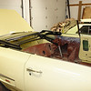 Olds 442 convertible that Lyle is restoring.