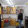 Bob Kitchen in the office, just inside the front door.