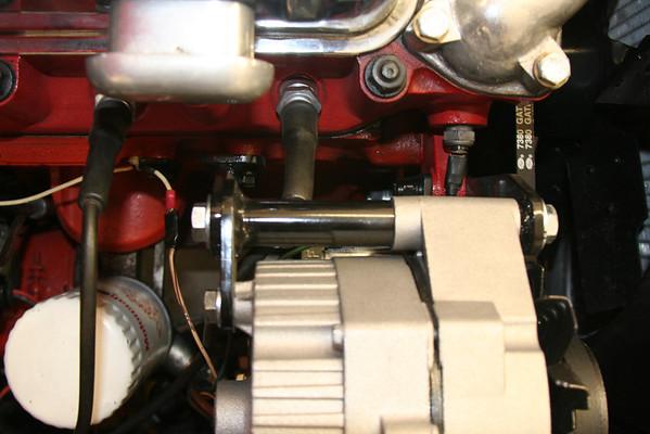 MG AC Compressor Bracket Pictures