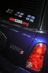 Slightly different tail lights for '05. Member of local club: MINI5280.org