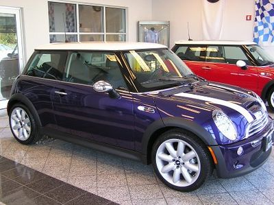 August 7, 2004. The first look at our MINI at Baron MINI near Kansas City, KS!