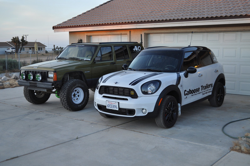 Mini Countryman Lift Finishlinewest