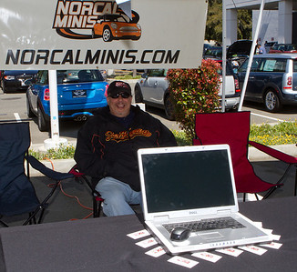 Randy Davis turned out to be the best greeter.  From him I learned more about the planned activities of NorCal MINIs.