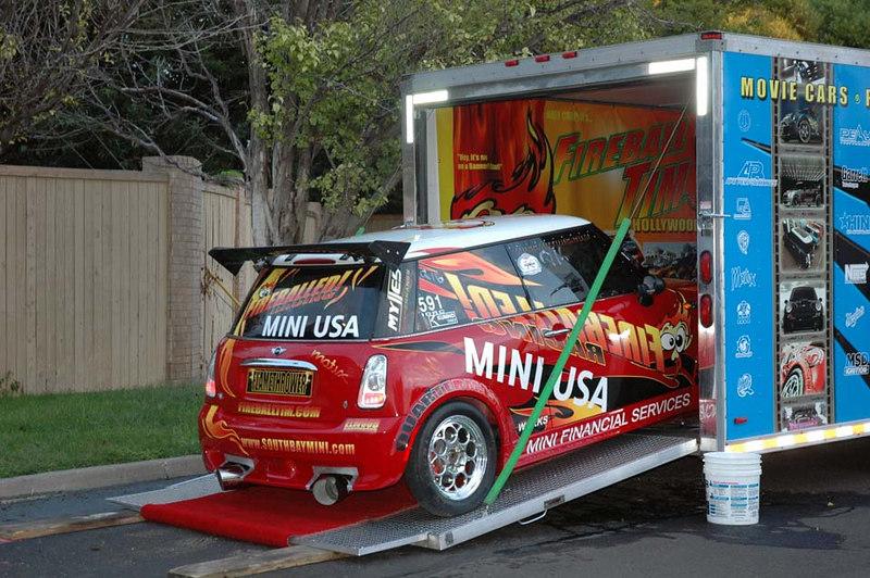 The super-modified MINI emerges.