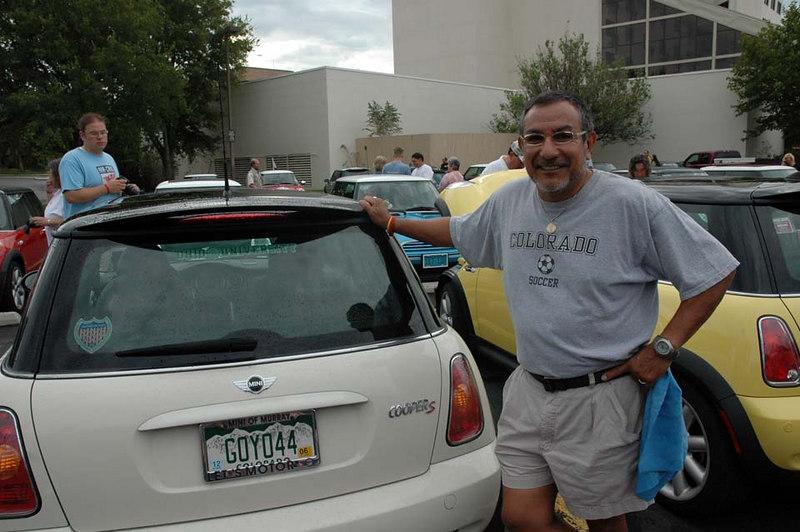 Greg from Longmont, Colorado.