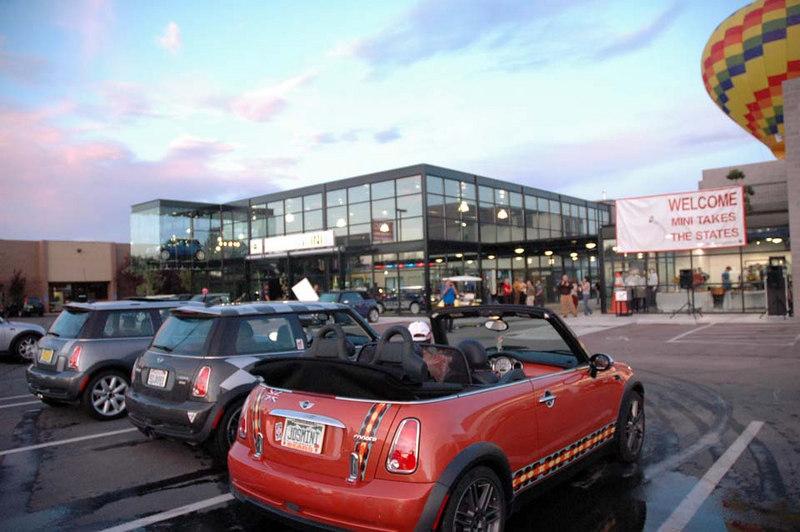 Day 5 began early at the local Albuquerque Sandia MINI dealership.