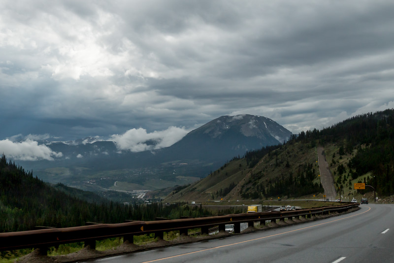 Rolling through the Rockies toward Las Vegas - our solo run to join the MTTS rolling party...