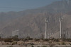 We saw lots of wind-powered generators, but nothing like the density of them in the desert!
