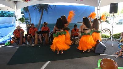 Tahitian style dance.